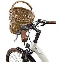 Fahrrad Lenkerkorb Weide natur für KLICKfix Lenkeradapter handlebar basket natural wicker