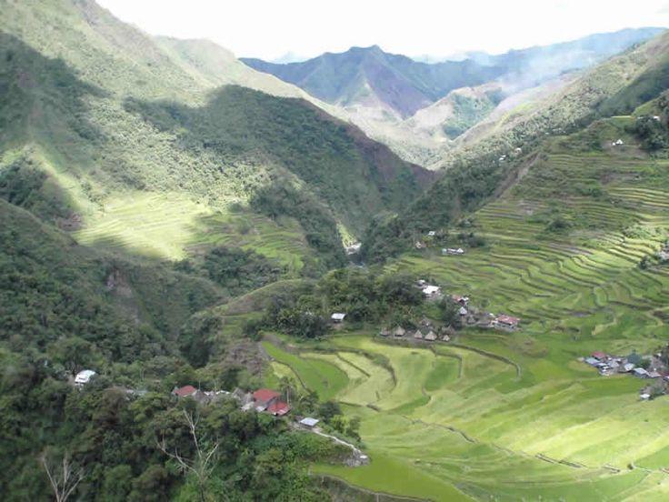 Terrazas de arroz de Banaue Filipinas. Trekking