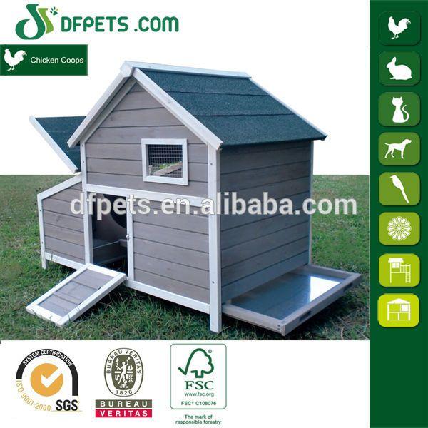 DFPets DFC002 capas de madera de la jaula de pollos de engorde para venta, Ver…