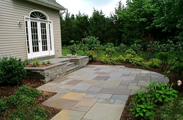 bluestone patio patterns | If you wanted to, you could also use the color called All Blue.