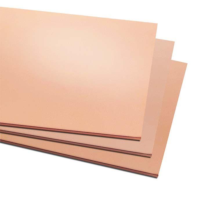 Copper 6 X 12 Sheet 14 Ga Dead Soft Cda 110 99 9 Pure Solidus Melt Temp 1 981 F 1 083 C Copper Sheets Copper Jewelry Supplies