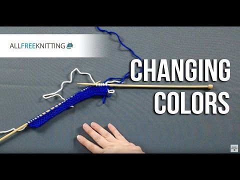 If you've ever wondered how to change colors at the end of a row, this is the perfect tutorial for you. Changing colors is a fundamental knitting skill used in a variety of different patterns.