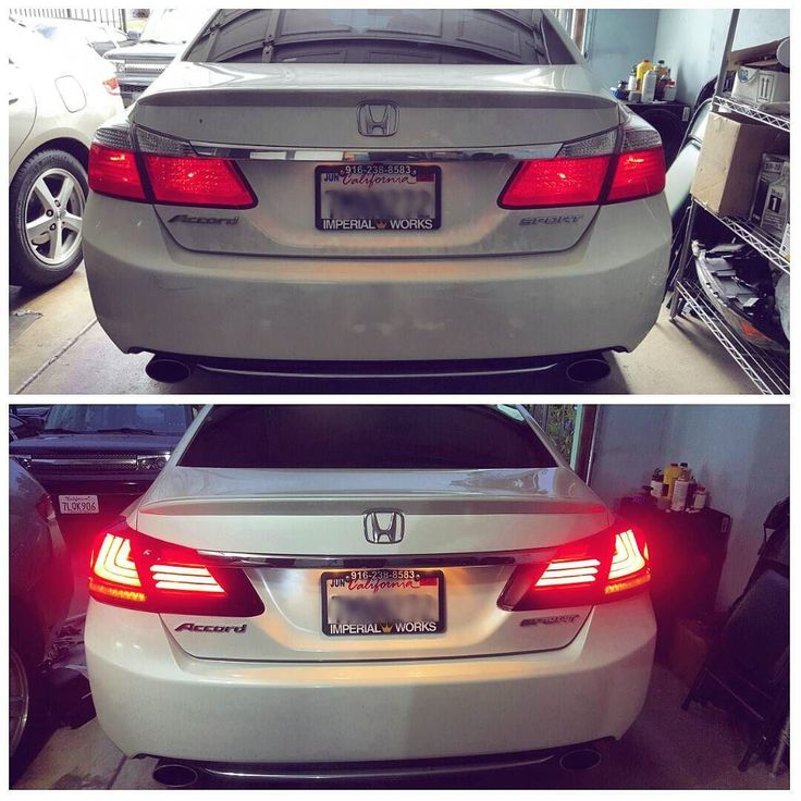 That's how you VIP out a 9th Gen Honda Accord Sport! Custom Crystal Acrylic EL Lighting with LED Turn Signals. Looking oh so fabulous! #vip #jdm #vipstylecars #honda #accord #newschool #modern #advance #tech #lights #led #digital #tail #bright #2015 #brandnew #classy #elegant #white #allwhite #sharp #lighting #clean #fresh #dope #retrofit #custom #acrylic #newlook #upgrade by ctnautos
