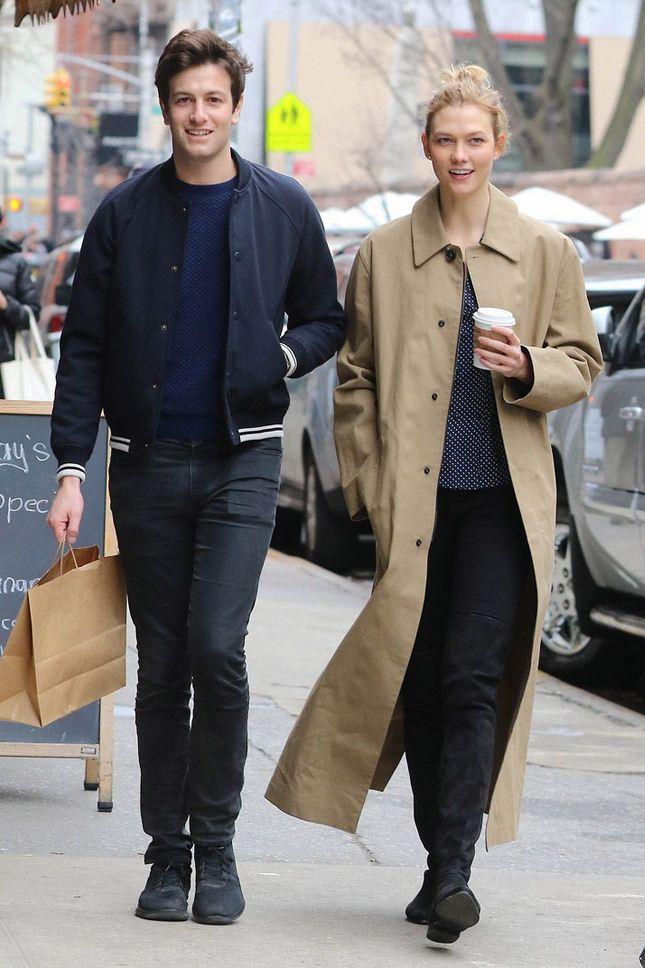 #MiCaramel': Джошуа Кушнер и Карли Клосс в Нью-Йорке