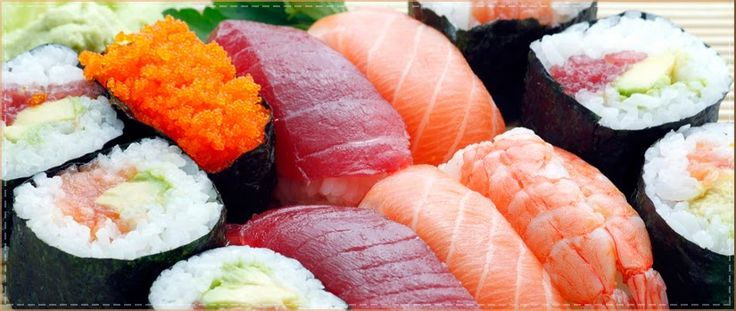 Si te gusta el sushi no te pierdas nuestro artículo del blog. #receta  #nutrición #cocina