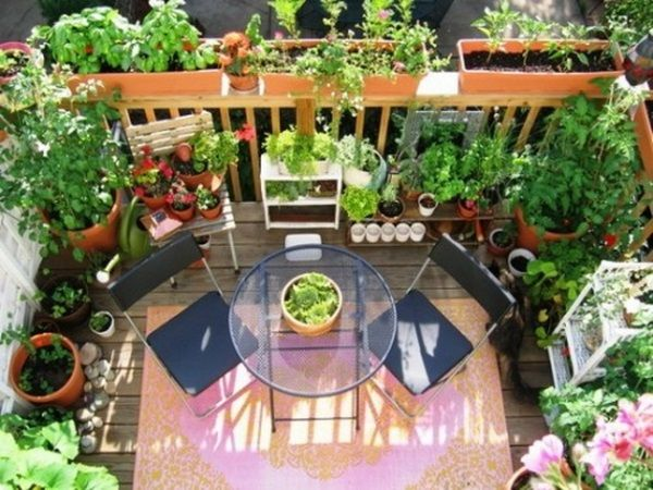 Privacy ideas for the balcony