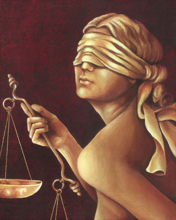 """""""Blind Justice"""" by dani-lachuk"""