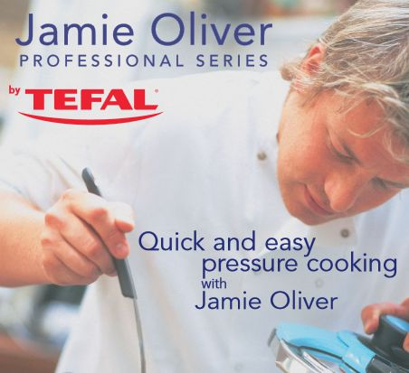 "T-Fal ""Quick and Easy Cooking with Jamie Oliver"" Recipes 
