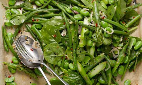Yotam Ottolenghi's Spring saladGreen Salad, Fun Recipe, Green Stuff, Salad Recipe, Ottolenghi Recipe, Orzo Recipe, Shades Of Green, Spring Salad, Ottolenghi Spring