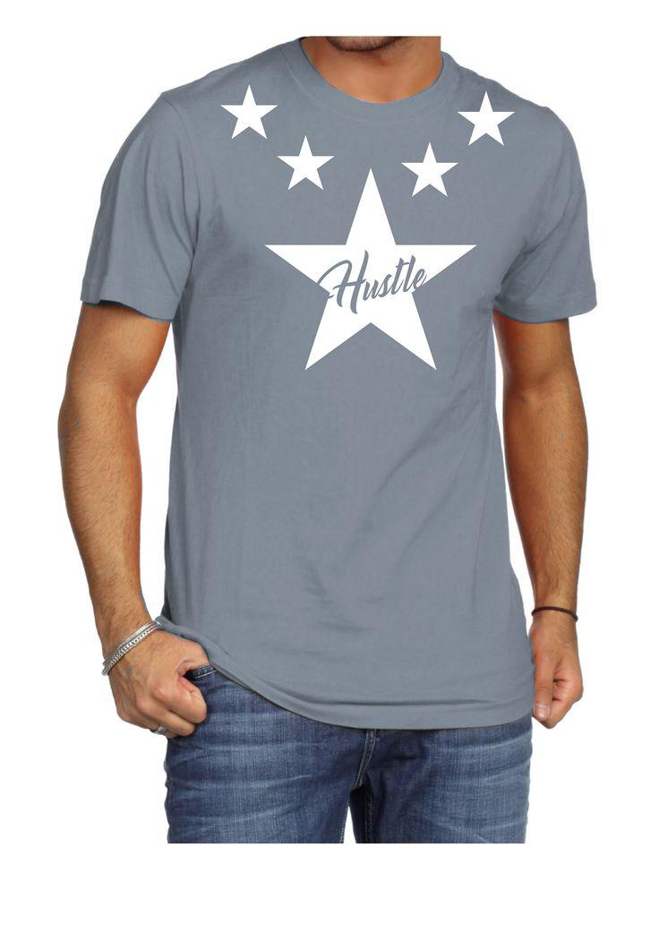 Hustle T-Shirt Grey