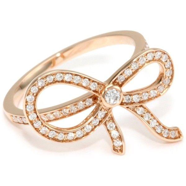 "Ivanka Trump ""Bow"" Diamond Ring from endless"