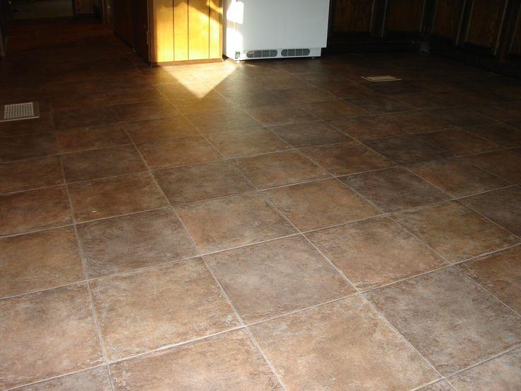 Interlocking Vinyl Floor Tiles Kitchen