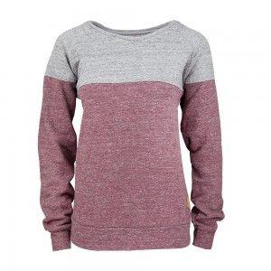 bleed clothing mountain sweater dark red 734f