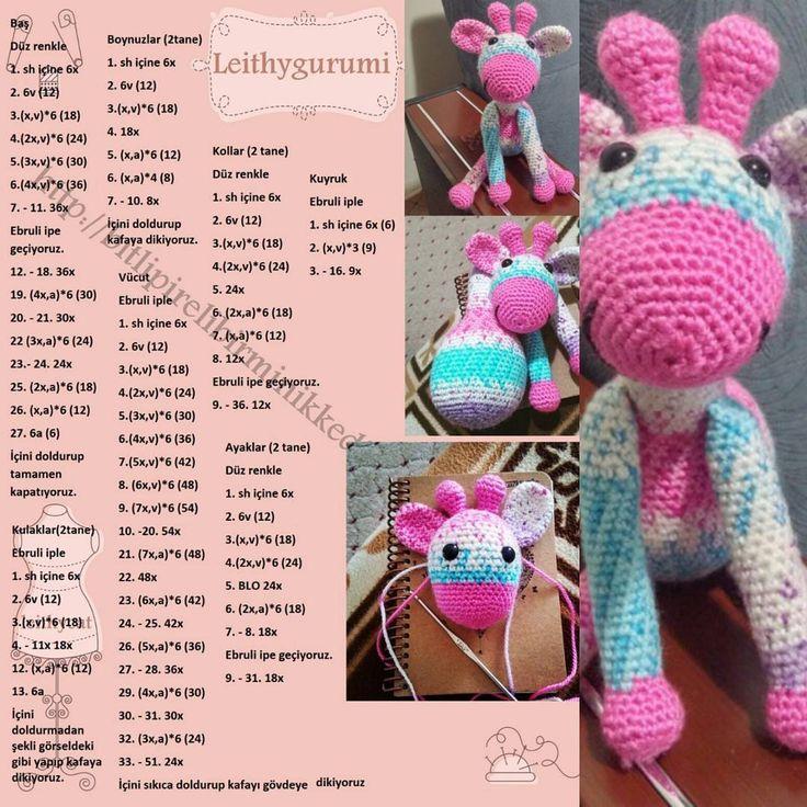 Zürafa tarifi tamamen bana aittir. Lütfen paylaşım yaparken beni etiketlemeden ya da benim profilime link vermeden paylaşım yapmayınız. Emeğe saygı diyorum! #örgü #toy #tığişi #örgübebek #elemeği #amigurumi #amigurumipattern #amigurumiaddict #crochet #crafts #handemade #handmadecrafts #handmadewithlove #hobby #diy #love #aşk #diy #diycrafts #amigurumiartist #weamiguru #amigurumi #crochetdoll #crochetart #giraffe #zürafa
