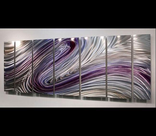 Wild Imagination metal wall sculpture by Jon Allen
