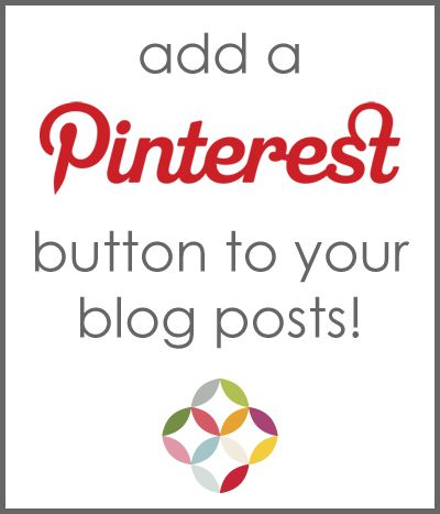seven thirty three: HOW TO: Add a Pin It button to all your Posts - Automatically!