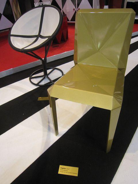 #lingotto chair, design Garilab by Piter Perbellini for #altreforme @iSaloni 2013 #interior #home #decor #homedecor #furniture #aluminium