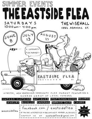 The Eastside Flea Market Aug 17, 2013