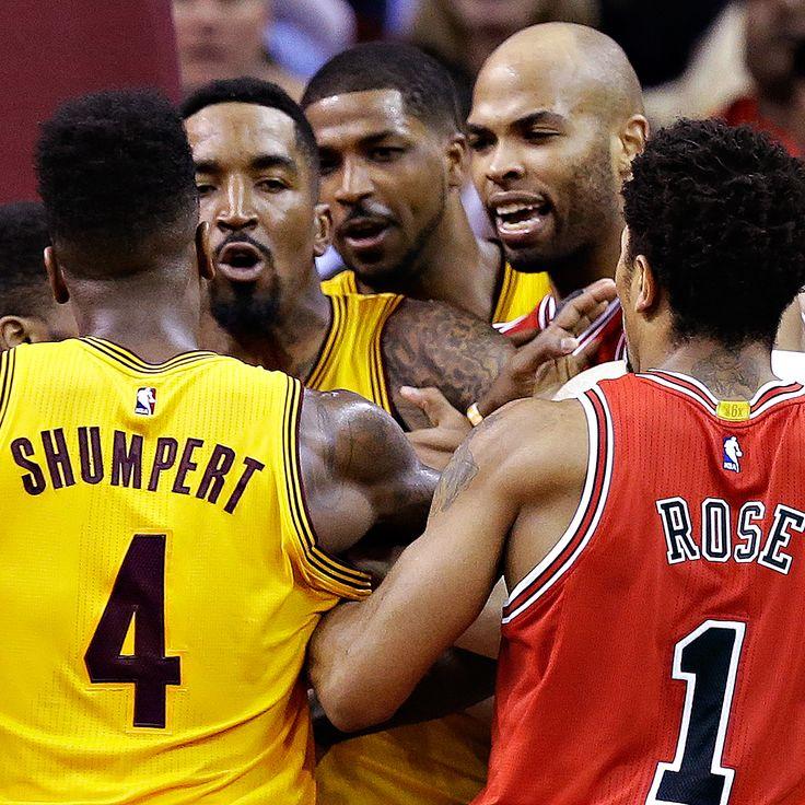 Bulls, Cavaliers scuffle after Matthew Dellavedova-Taj Gibson tangle