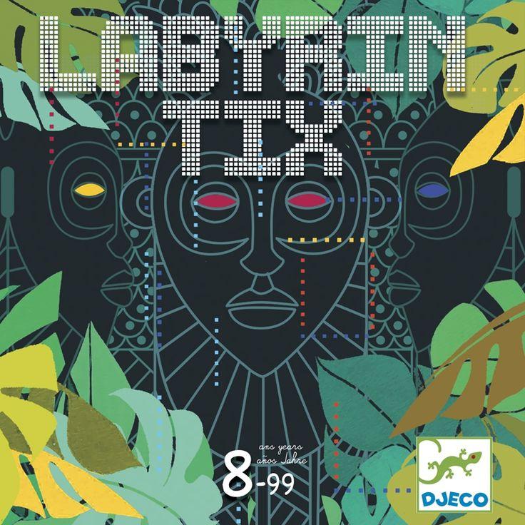 Labyrintix társasjáték gyorsaság és megfigyelés Djeco