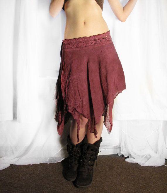 Fairy long skirt. Tutu long skirt. lace by AbstractikaCrafts, £39.00