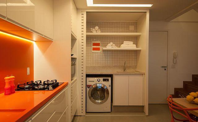 Decor Salteado - Blog de Decoração e Arquitetura : Áreas de serviços escondidas em armários – veja modelos e dicas!