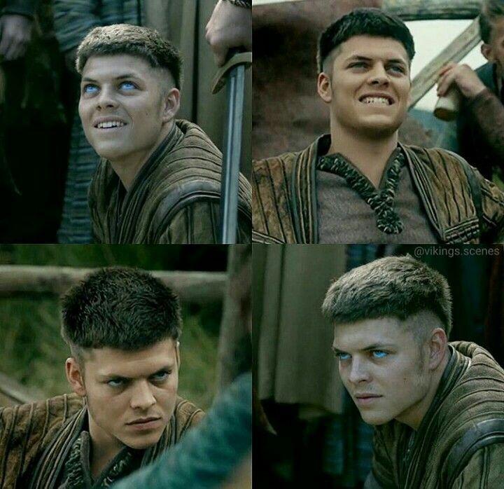 Ivar the Boneless from Vikings (credit to @vikings.scenes on Instagram)