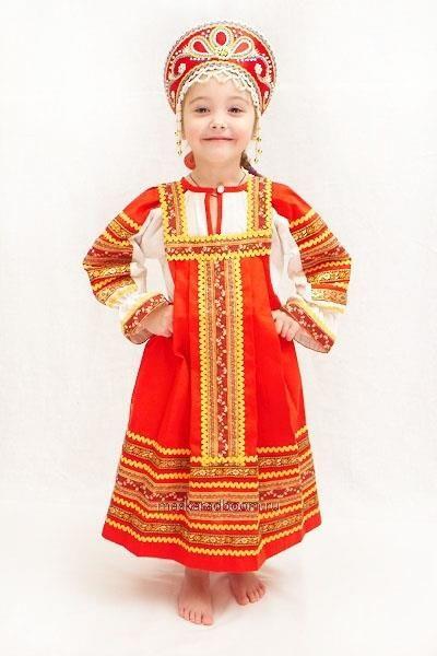 Русский народный костюм для девушек