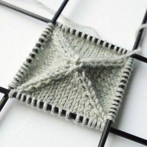 Knitting pattern for basic Christmas ball ornament