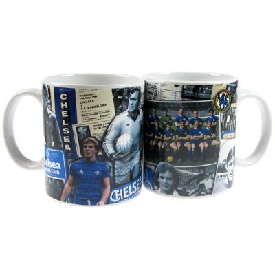 Chelsea FC Retro Ceramic Mug | Chelsea FC Gifts | Chelsea FC Shop