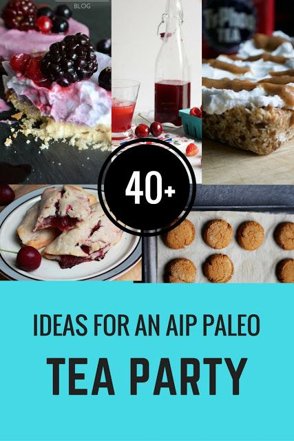 COMFORT BITES BLOG: 40+ Recipes For an AIP Compliant and Paleo Afternoon Tea