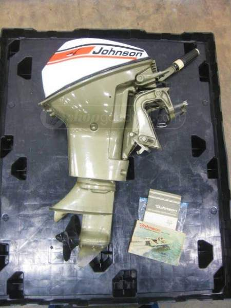 Shopgoodwill Com 1973 Johnson Sea Horse 9 5 Hp Outboard