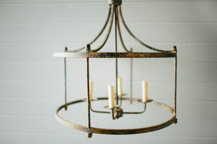 Iron Pendant Light | The Magnolia Market