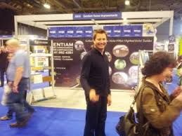 Image George Clarke on the Centiam Stand @ ideal home show SECC Glasgow 2013