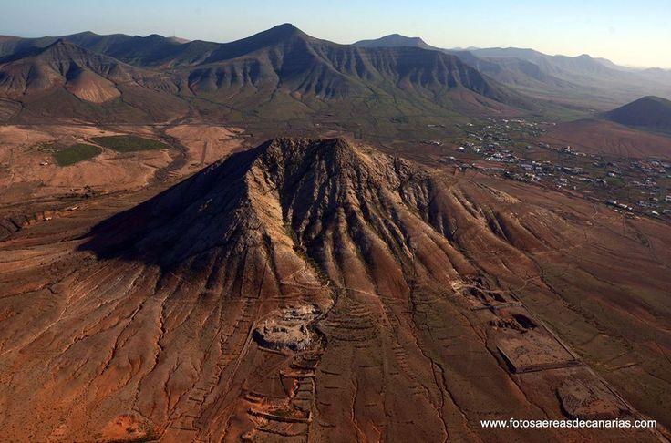 Tindaya volcanic peak, Fuerteventura, Canarias islands
