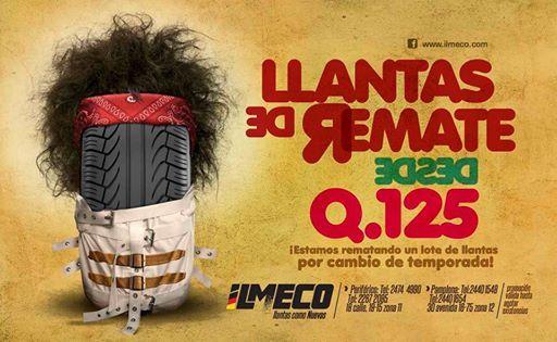 Llantas de Remate Cliente: Ilmeco Julio 2014