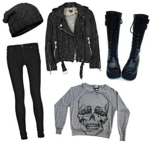 Love this outfit but i would wear combat boots or converse :)