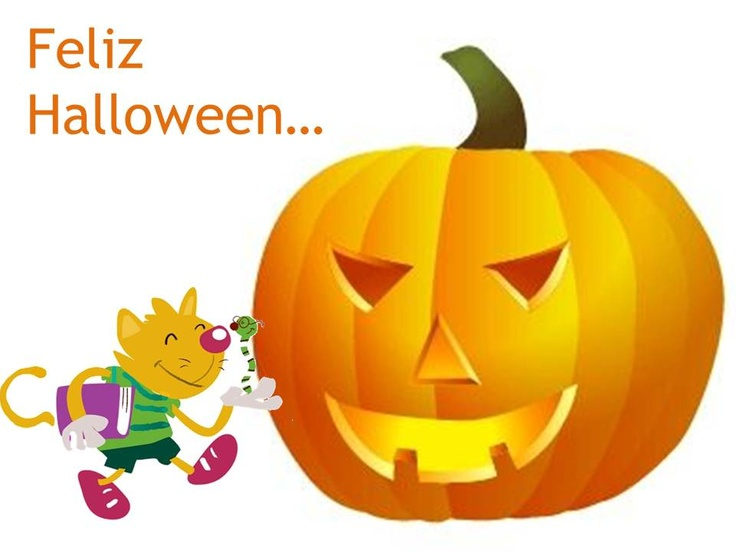 Zyro y Palabrejas os desean un Feliz #Halloween lleno de caramelos y sustos
