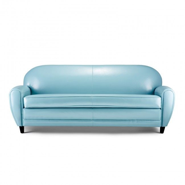 The 25 best Blue leather sofa ideas on Pinterest Blue leather