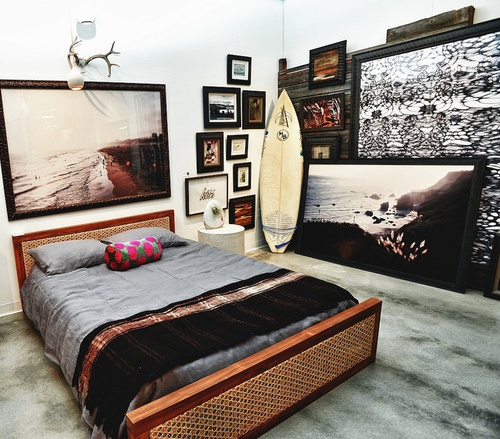 Oltre 1000 idee su camere da letto a tema surf su for Surfers bedroom design