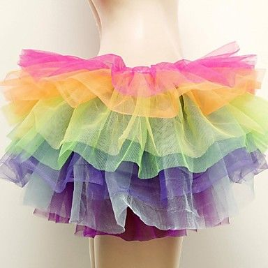 multi-gekleurde tutu rokken sexy toneelvoorstellingen ds dansen rok carnaval kostuum 2605856 2017 – €19.59