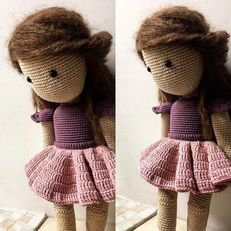 4 отметок «Нравится», 1 комментариев — Verushka Dolls (@verushka_dolls) в Instagram: «New one. #crochet_doll #crocheting #crochetaddict #crochettoy #crocheted #kukolka #besttoyever…»