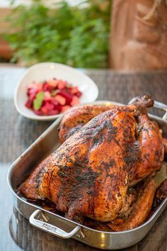 A Jamaican spin on a Thanksgiving tradition- Jerk Turkey recipe by Chef and Steward for Design*Sponge
