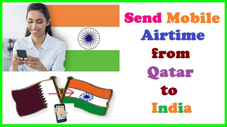 Send Mobile Airtime Directly from Qatar to India