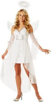 Teen Girls Heavens Angel Costume- Top Costumes- Teen Girls Costumes- Teen Costumes- Halloween Costumes - Party City