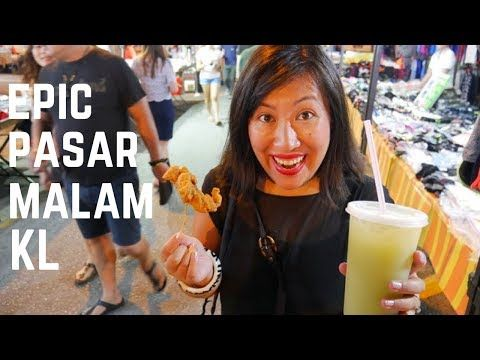 VIDEO! What to eat at TAMAN CONNAUGHT Night Market in Kuala Lumpur, Malaysia | Food and Travel Channel | Malaysia - YouTube