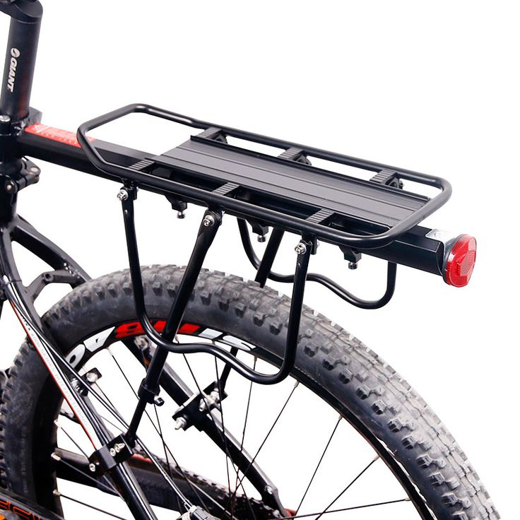 Deemount Bicycle Luggage Carrier Cargo Rear Rack Shelf Cycling Seatpost Bag Holder Stand for 20 29