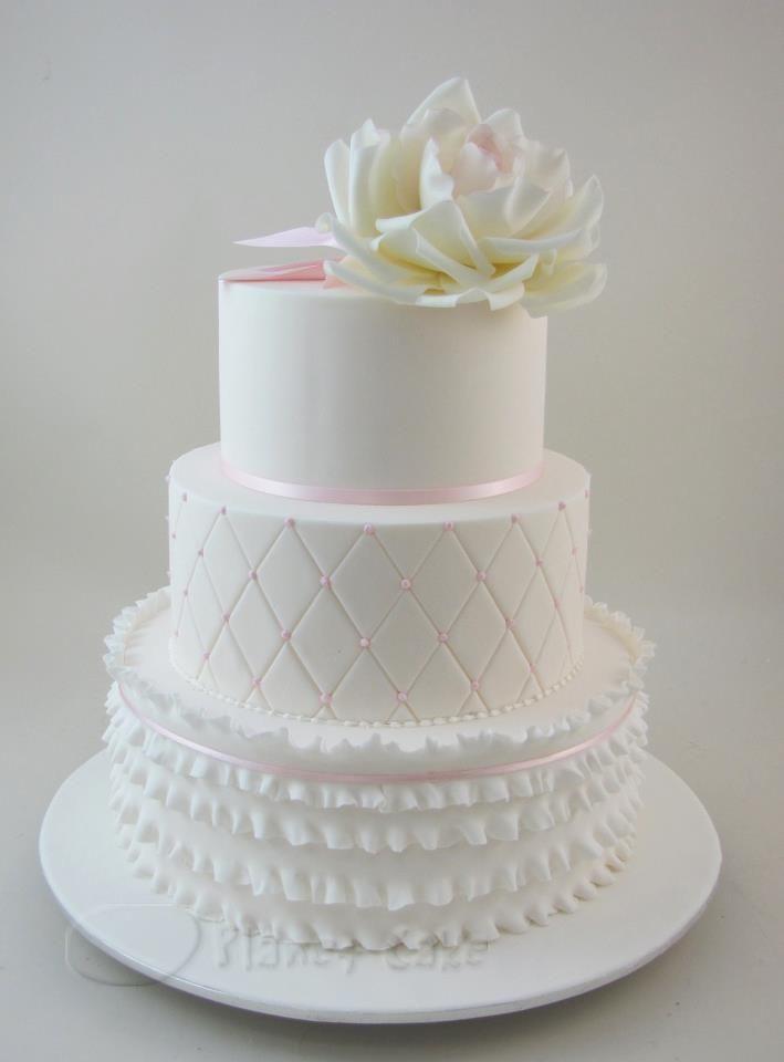 Красно белые свадебные торты - фото 5237629 Арт-кондитер Наталья Татаринова