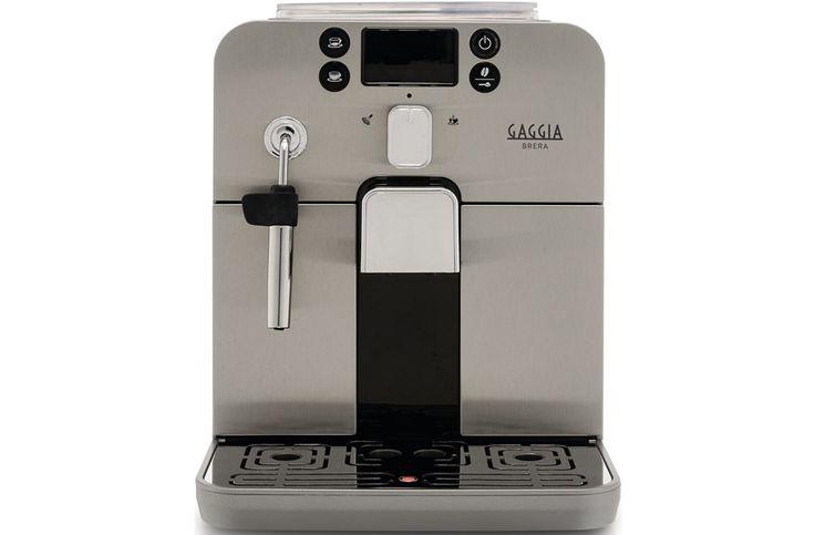 Gaggia Brera  Gaggia Brera RA9305/01: Compact traditioneel en gemakkelijk in gebruik! De Gaggia Brera RA9305/01 is een volautomatische espressomachine met een 1400 Watt vermogen en een pompdruk van 15 bar.Met deze koffiemachine zet jij met één druk op de knop jouw favoriete koffiedrank. De Gaggia Brera maakt op een professionelewijze een espresso. Jij hoeft hiervoor dus niet meer de deur uit! Bepaal zelf de gewenste sterkte en hoeveelheid en zet als jij daar zin in hebtook een heerlijke…