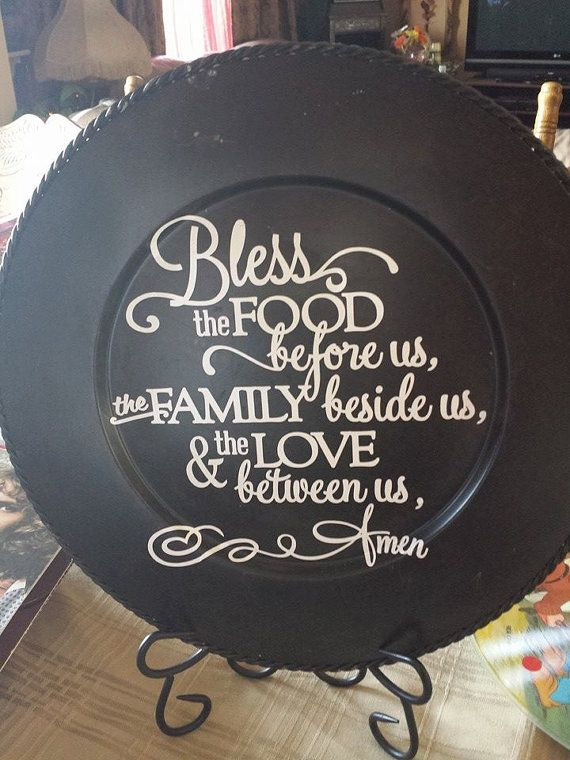 Grace Plate by themornsun on Etsy, $8.00